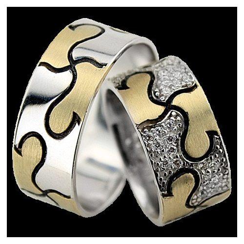 ARANY Bicolor Karikagyűrű – TS1003