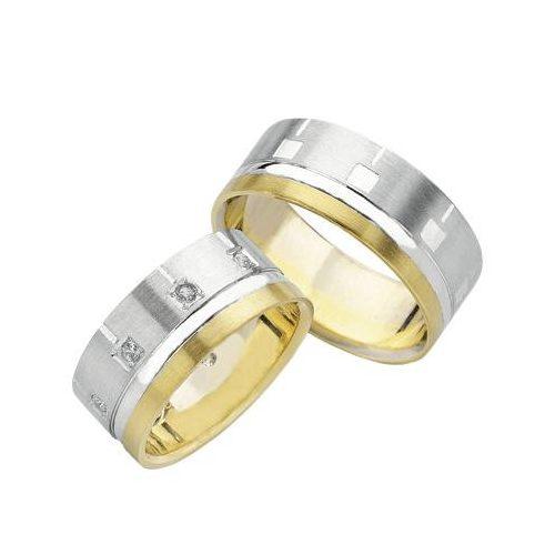 ARANY Bicolor Karikagyűrű – TS1005