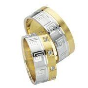 ARANY Bicolor Karikagyűrű – TS1006