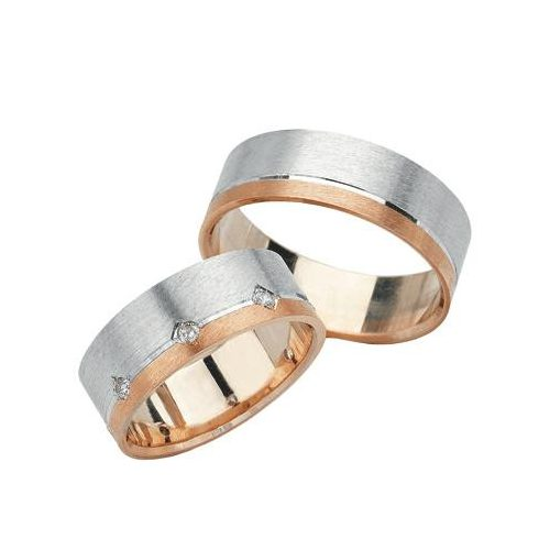 ARANY Bicolor Karikagyűrű -TS1012