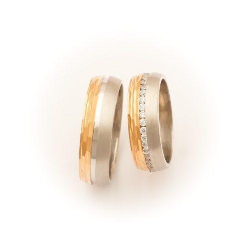 ARANY Bicolor Karikagyűrű – TS1017