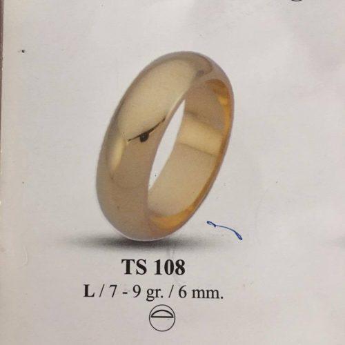 ARANY Karikagyűrű – TS101GY