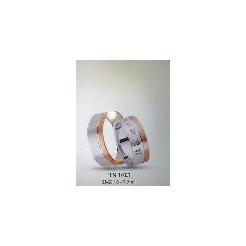 ARANY Bicolor Karikagyűrű – TS1023