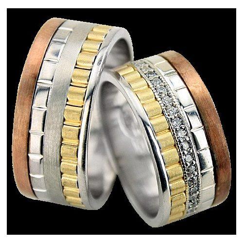 ARANY Tricolor Karikagyűrű – TS1024