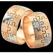 ARANY Bicolor Karikagyűrű – TS1025
