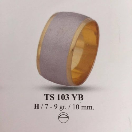 ARANY Bicolor Karikagyűrű – TS103YB