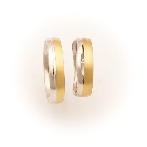 ARANY Bicolor Karikagyűrű – TS1049
