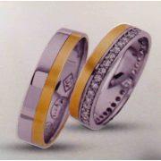 ARANY Bicolor Karikagyűrű – TS1052
