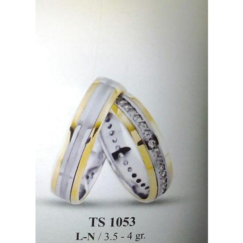 ARANY Bicolor Karikagyűrű – TS1053