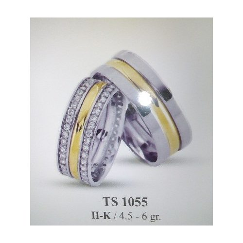 ARANY Bicolor Karikagyűrű – TS1055