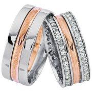 ARANY Bicolor Karikagyűrű – TS1056