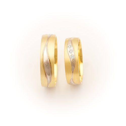 ARANY Bicolor Karikagyűrű – TS1063