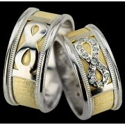 ARANY Bicolor Karikagyűrű – TS1091