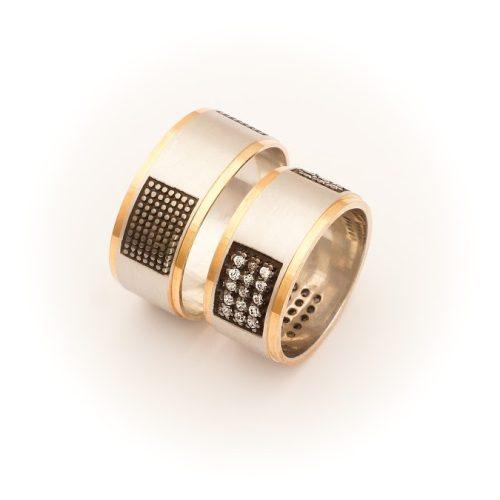 ARANY Bicolor Karikagyűrű – TS1099