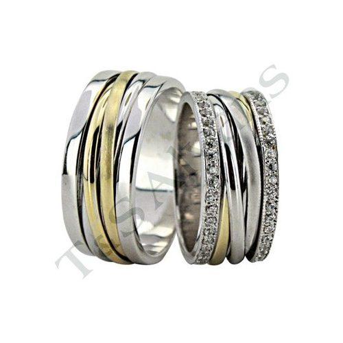 ARANY Bicolor Karikagyűrű – TS1100