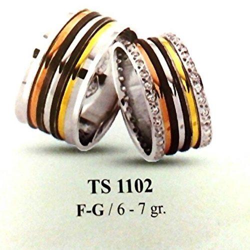 ARANY Tricolor Karikagyűrű – TS1102