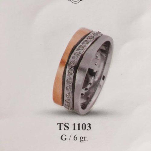 ARANY Bicolor Karikagyűrű – TS1103