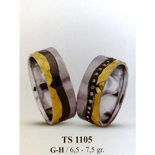 ARANY Bicolor Karikagyűrű – TS1105