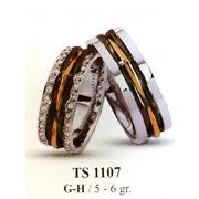 ARANY Bicolor Karikagyűrű – TS1107