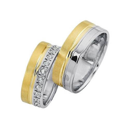 ARANY Bicolor Karikagyűrű – TS1111