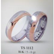 ARANY Bicolor Karikagyűrű – TS1112