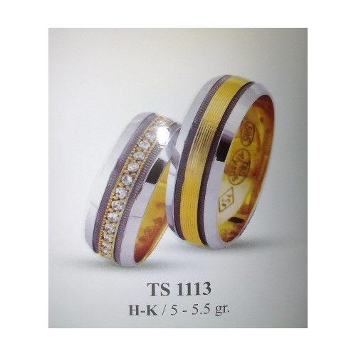 ARANY Bicolor Karikagyűrű – TS1113
