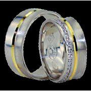 ARANY Bicolor Karikagyűrű – TS1115