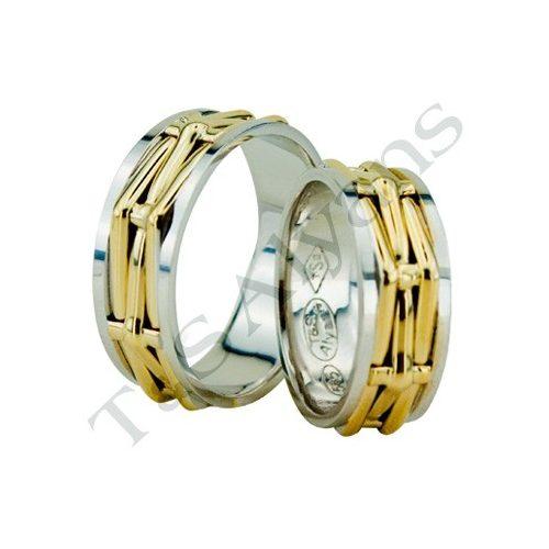 ARANY Bicolor Karikagyűrű – TS1118