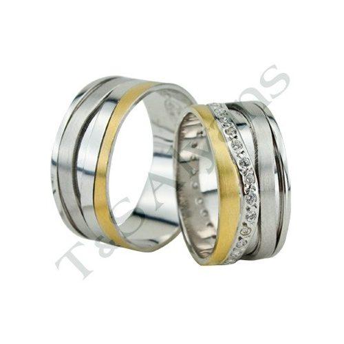 ARANY Bicolor Karikagyűrű – TS1127