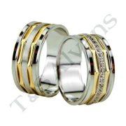 ARANY Bicolor Karikagyűrű – TS1128