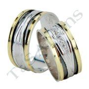 ARANY Bicolor Karikagyűrű – TS1129