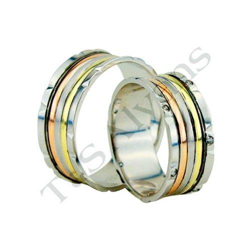 ARANY Tricolor Karikagyűrű – TS1131