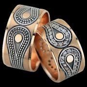 ARANY Bicolor Karikagyűrű – TS1134