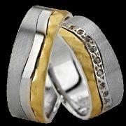 ARANY Bicolor Karikagyűrű – TS1135