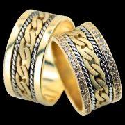 ARANY Bicolor Karikagyűrű – TS1136
