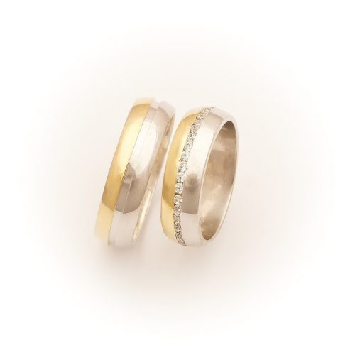 ARANY Bicolor Karikagyűrű – TS1140