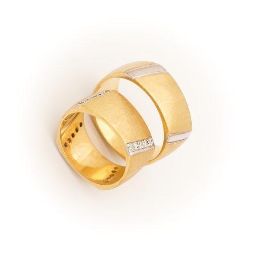 ARANY Bicolor Karikagyűrű – TS1141
