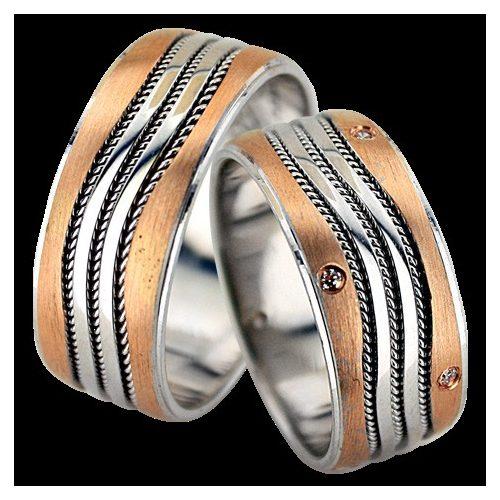 ARANY Bicolor Karikagyűrű – TS1142