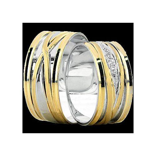 ARANY Bicolor Karikagyűrű – TS1143
