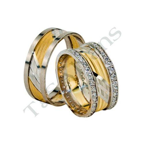 ARANY Bicolor Karikagyűrű – TS1205