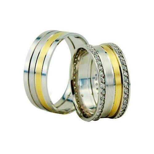 ARANY Bicolor Karikagyűrű – TS1206