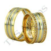 ARANY Bicolor Karikagyűrű – TS1207
