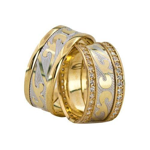 ARANY Bicolor Karikagyűrű – TS1217