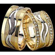 ARANY Bicolor Karikagyűrű – TS1219