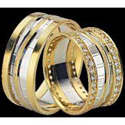 ARANY Bicolor Karikagyűrű – TS1220