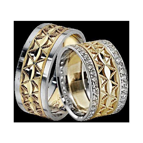 ARANY Bicolor Karikagyűrű – TS1222