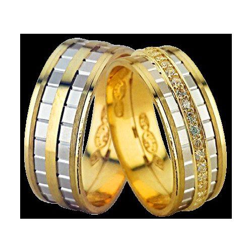 ARANY Bicolor Karikagyűrű – TS1223
