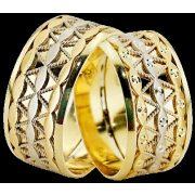 ARANY Bicolor Karikagyűrű – TS1224