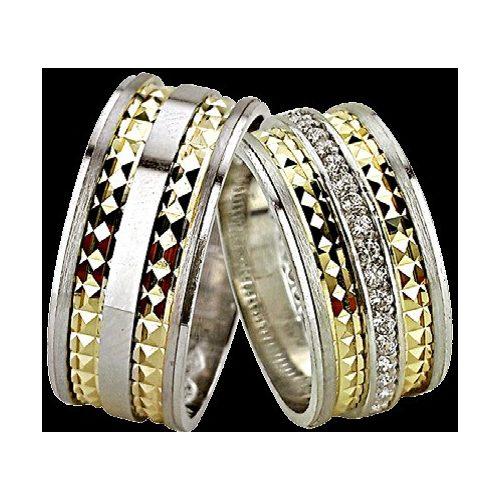 ARANY Bicolor Karikagyűrű – TS1225