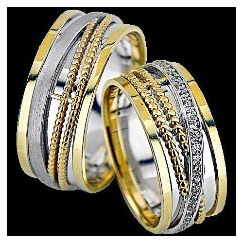 ARANY Bicolor Karikagyűrű – TS1226